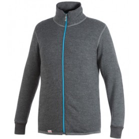 Woolpower Full Zip Jacke 400 grau