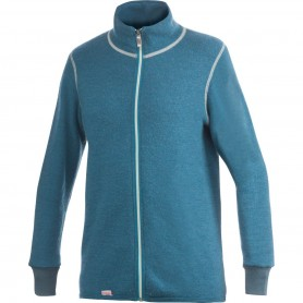 Woolpower Full Zip Jacke 400 blau