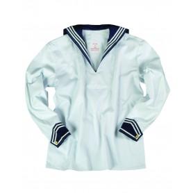 BW Marinehemd mit Marinekragen weiss