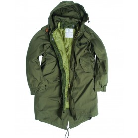 US M51 Extreme Cold Weather Parka mit Futter Repro