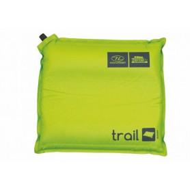 Highlander Trail self inflate Kissen grün