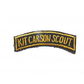 Abzeichen der US Army Vietnam Kit Carson Scout gelb