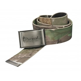Pinewood Canvas Belt camouflage