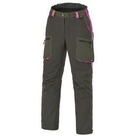Pinewood Wolf Damen Jagdhose Mossgrün/Hot Pink