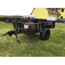 US M1102 Cargo Trailer HMMVW Anhänger neuwertig